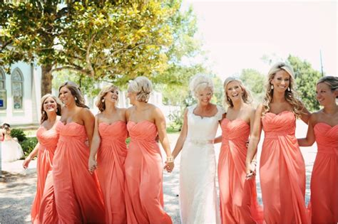 Champagne And Coral Vintage Wedding, Houston