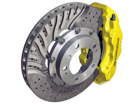 porsche  turbo pccb brake results