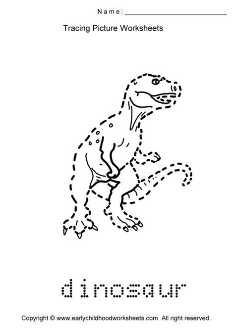 trace animals images as to print this worksheet