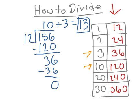 to devide solve division problems boxfirepress