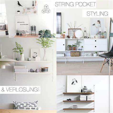 String Regal Küche by String Pocket Regal Styling Verlosung Pinspiration