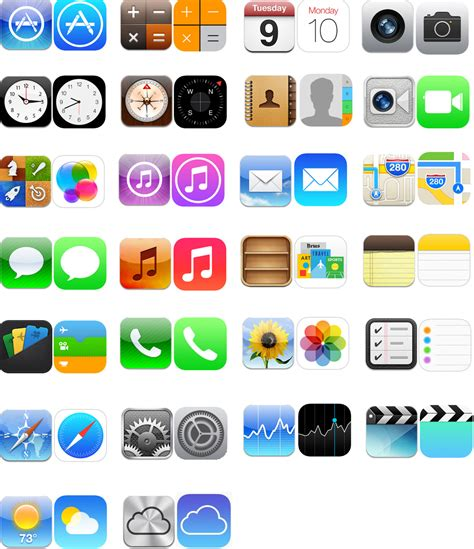 iphone app icons images iphone app icon ios  apple