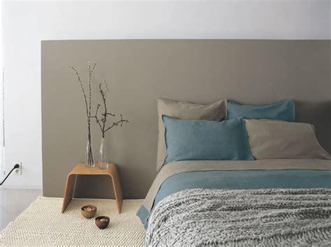 tete de lit chambre adulte peinture chambre adulte