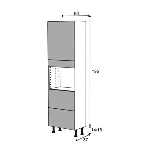 prof de cuisine colonne de cuisine n 2157 four encastrable niche 45 ginko