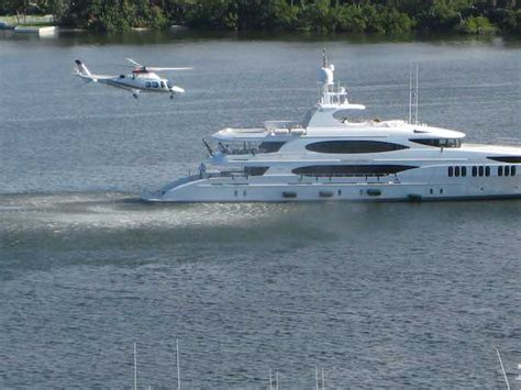 Yacht With Helicopter by Yacht With Helicopter For Sale A Practical Indulgence