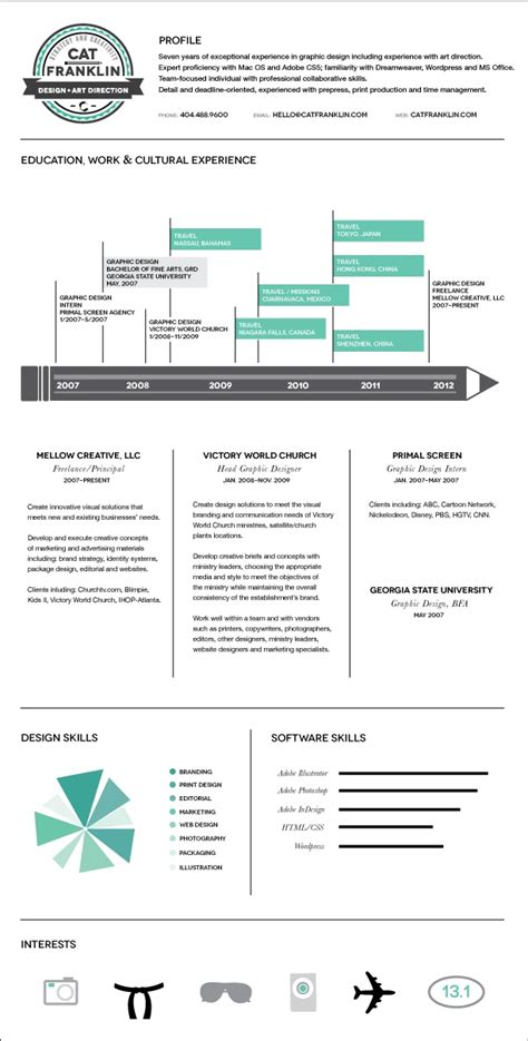 Best Infographic Resumes by 17 Best Images About Top Cvs Resumes On Free Cover Letter Infographic Resume And
