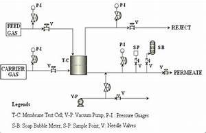 Process Flow Diagram Of High Pressure Gas Separation