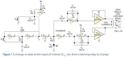 Cmos Circuit Latches Relays Edn