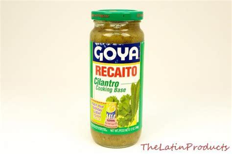what is recaito goya recaito cilantro cooking base 12 oz 340 g for rice beans stews ebay