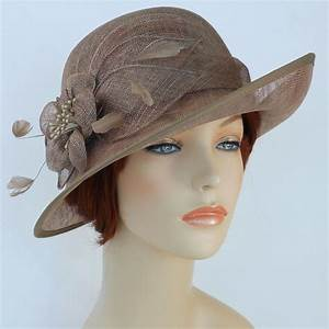 new woman church derby wedding sinamay ascot dress hat dr With dress hats for weddings