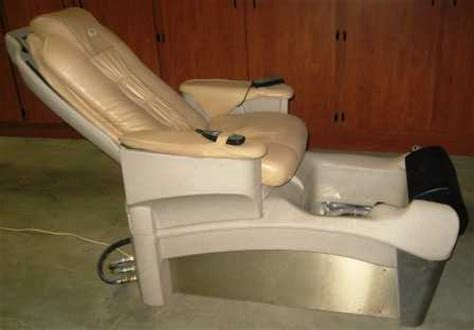European Touch Pedicure Chairs by Like New European Touch Pedicure Chair Used European