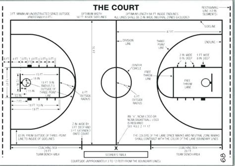 Half Court Basketball Dimensions For A Backyard - half court basketball size half basketball junior