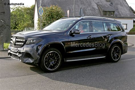 Mercedes Gls Class Modification by See The 2017 Mercedes Gls In Motion Mercedesblog
