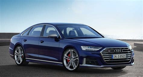 Audi S8 by 2020 Audi S8 Unveiled With 563 Hp Turbo V8 Carscoops