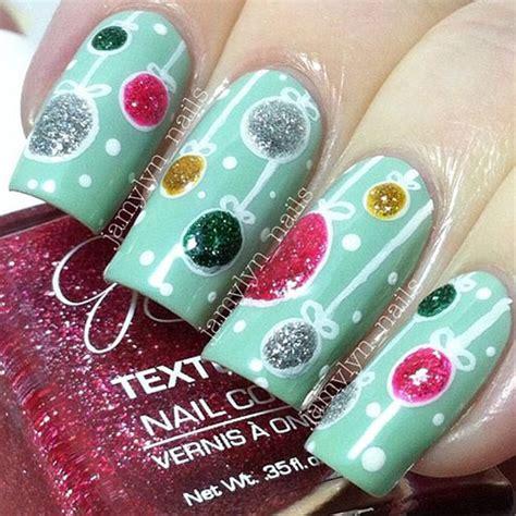15 christmas ornament nail art designs ideas 2016 xmas