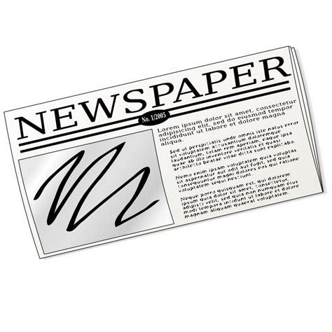 Newspaper Clipart Newspaper Clip Cliparts Co