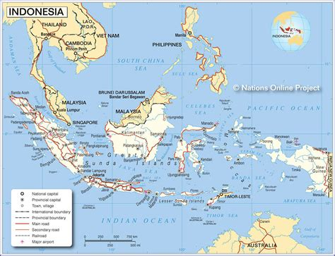 map  indonesia nations  project