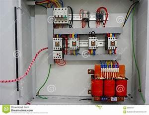 Auto Transformer Starter Stock Photo