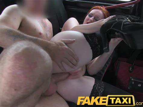 Faketaxi Sultry Shorthair With Great Little Swinging Breasty