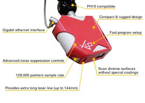 xlp laser scanner omni tech cmm