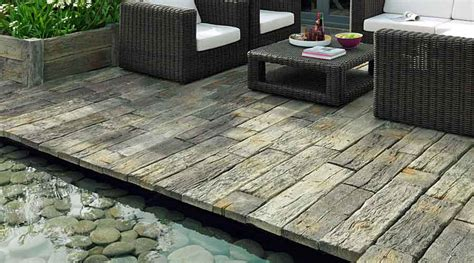 rustic l shades paving ideas for patios paths and driveways