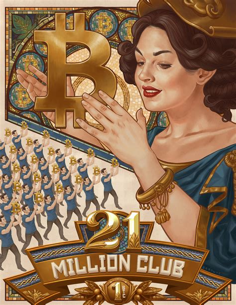 Anton lucian march 9, 2020 0 comment. 21 Million Bitcoin Club - Cryptoart
