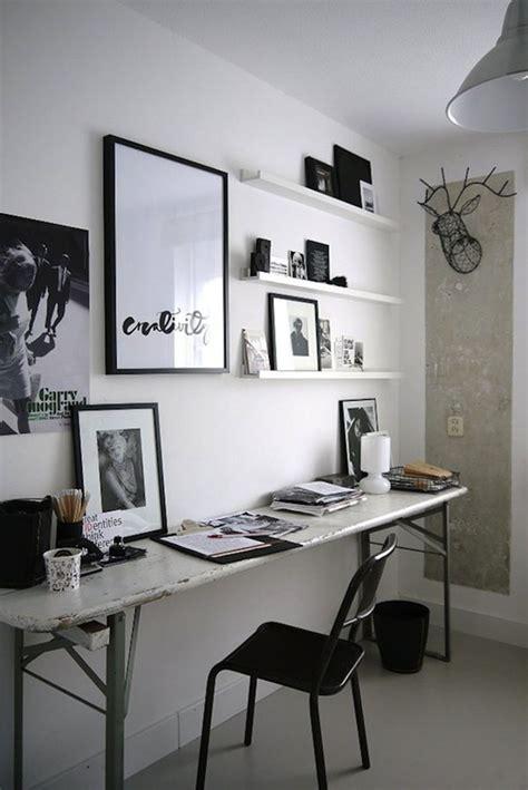 bureau et blanc 42 idées déco de bureau pour votre loft