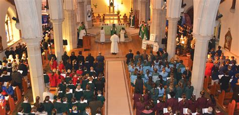 Southern Schools Gather For Annual Mass