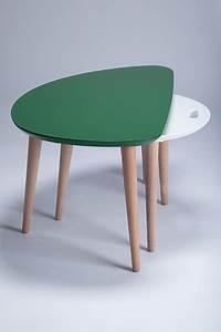Table Basse Gigogne Scandinave : tables basses gigognes design ~ Voncanada.com Idées de Décoration