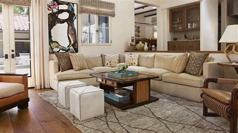 california ranch style home episode  living roomindoor