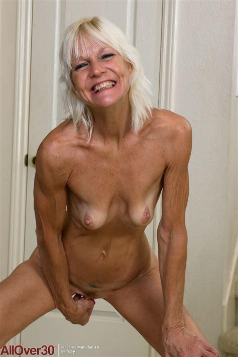 Skinny British Blonde Big Tits