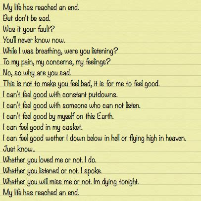 Lettere Di Suicidi by I Wrote My Letter Qoutes