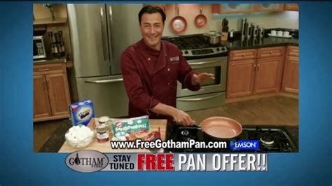 gotham steel tv commercial cooking  air  pan offer feat daniel green ispottv