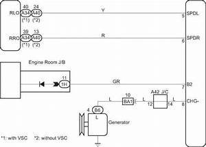 Headlight Beam Level Control Ecu Communication Circuit