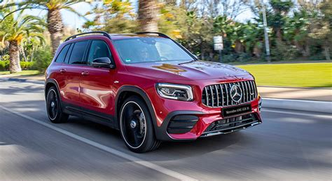 It's fairly rapid in a straight line and (caveat alert) for an suv it's reasonably grippy and composed. Mercedes-Benz GLB AMG 35 4MATIC 2021, Philippines Price & Specs | AutoDeal