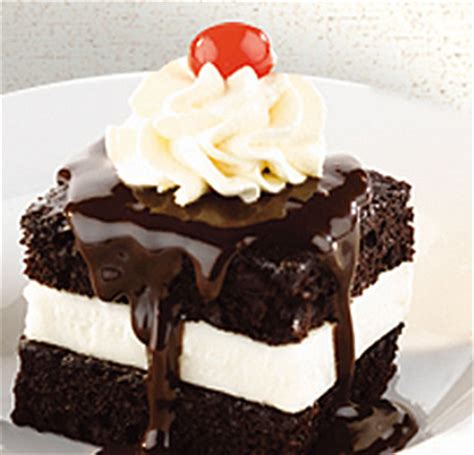 hot fudge cake  shoneys  december