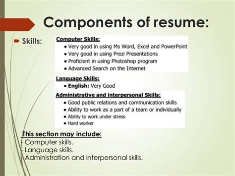 Most Important Computer Skills For Resume by Cv Writing Session