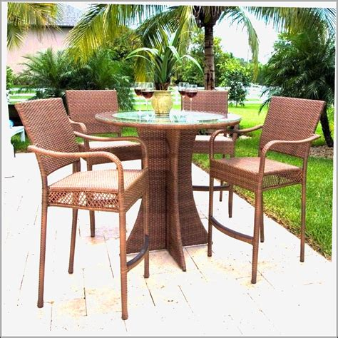 bar height patio dining set patio dining sets bar height patios home design ideas