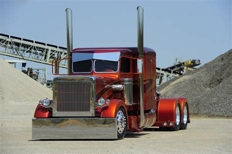 Custom Semi Truck Wallpapers by Semi Trucks Tractor Rigs Peterbilt Wallpaper 4256x2832