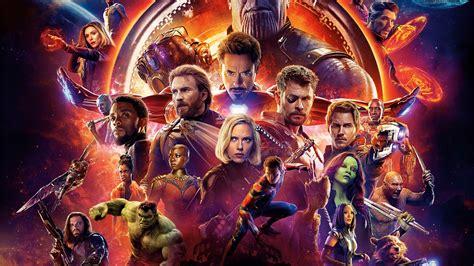 avengers infinity war   poster laptop