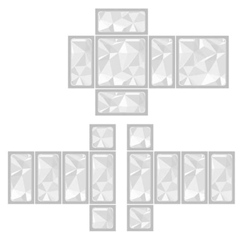 Transparent Template Pants by Transparent Shirt Template For Roblox