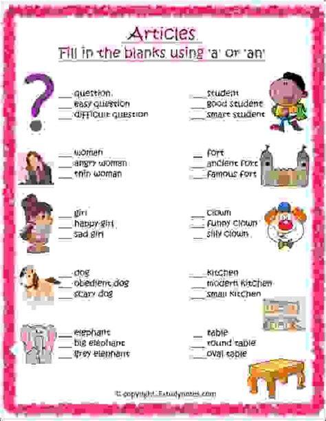 worksheet   images english grammar