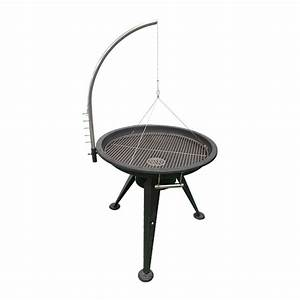 Grille Barbecue 80 Cm : iron stainless steel charcoal grill bbq fire pit outdoor fun ~ Carolinahurricanesstore.com Idées de Décoration