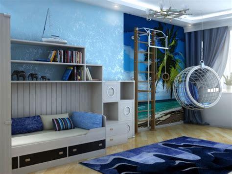 chambre bleu ciel chambre enfant bleu et déco aux accents colorés