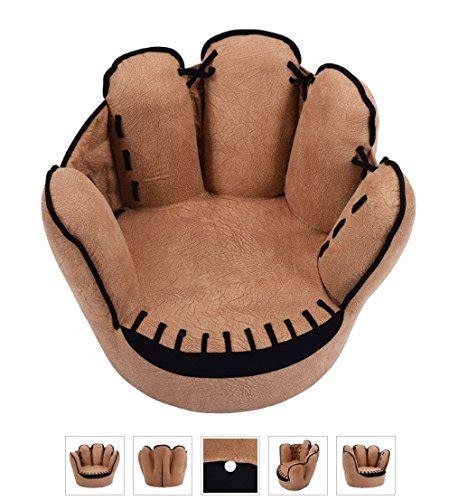 baseball glove chair uk tv chairs for baseball glove sofa armrest
