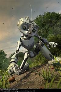 18 Best Futuristic And Glamorous 3d Robot Character