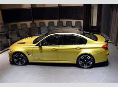 Austin Yellow BMW M3 Bathes In AC Schnitzer & M