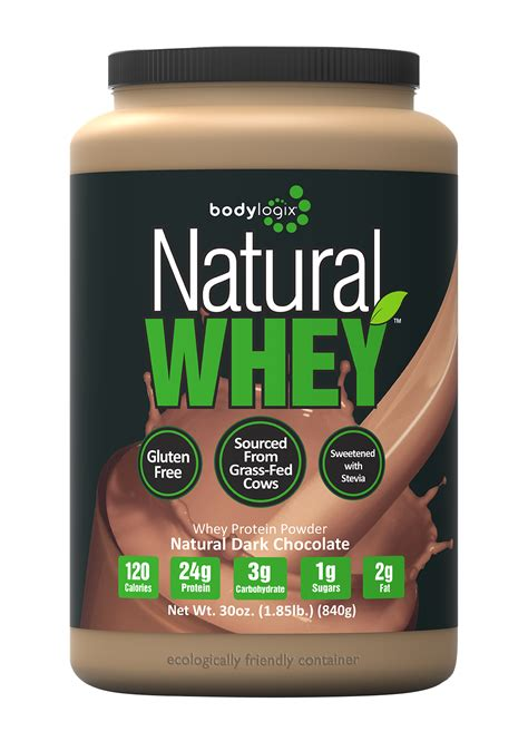 Amazon.com: Bodylogix Natural Whey Protein Nutrition Shake
