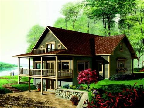 Mountain Home Plans With Walkout Basement New Home