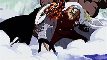 Shanks Piece Coby Admiral Marineford Arc Roux